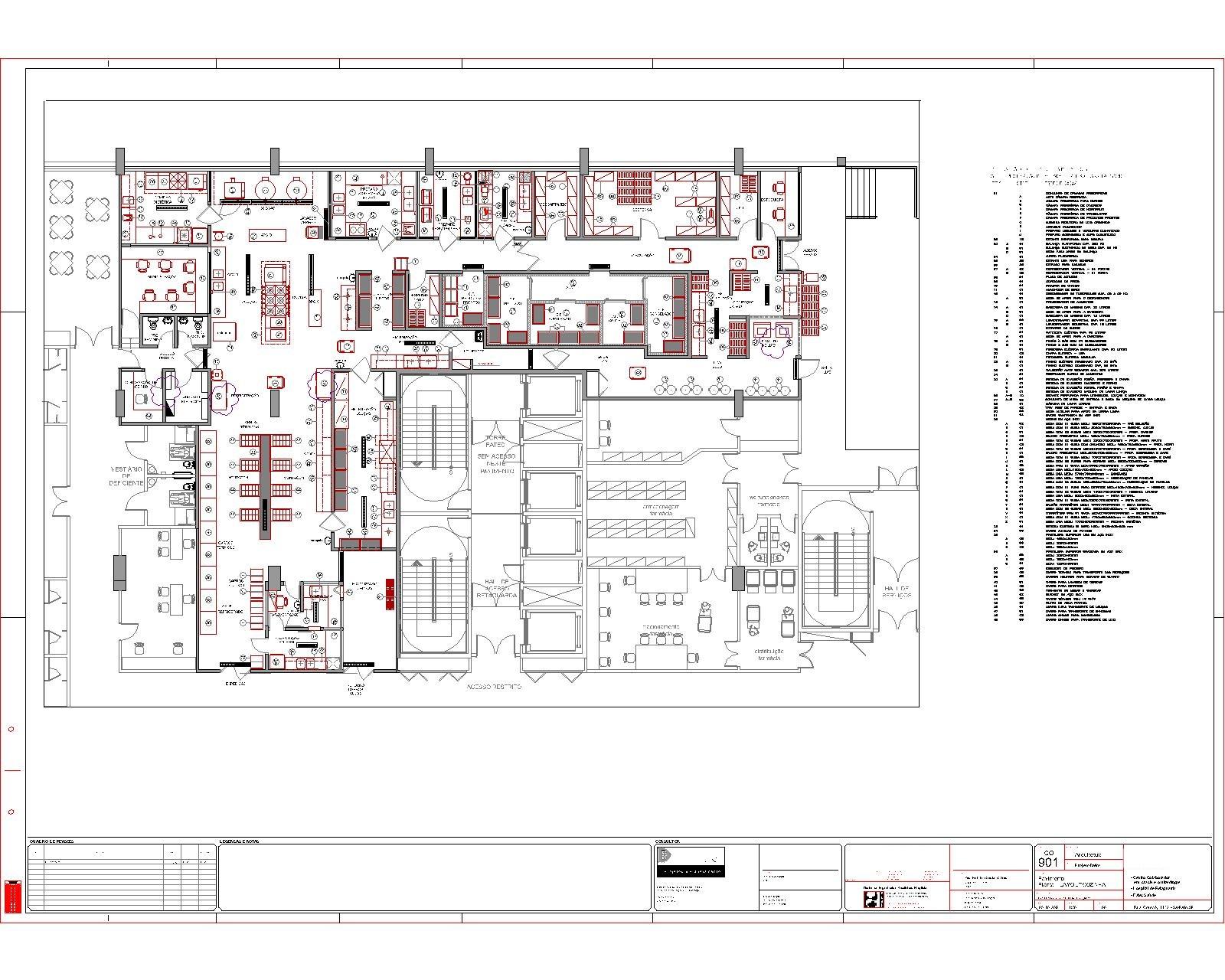 #BB1010 Ante projeto Hospitalar Dimensão 1600x1280 px Projeto De Cozinha Industrial Hotel_4665 Imagens